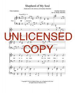 Shepherd of My Soul - Choral - Printable Download
