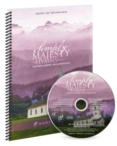 Simply Majesty Hymns - Spiral Choral Book with CD