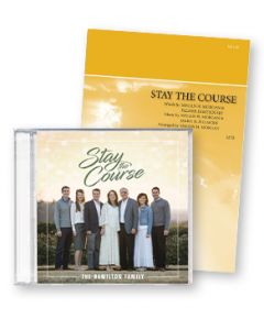 Stay the Course CD (With Stay the Course Sheet Music)