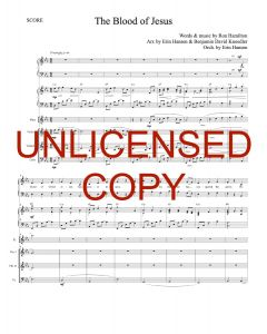 The Blood of Jesus (Simply Majesty Version) - Printable Orchestration - Printable Download