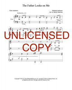 The Father Looks on Me - Choral Octavo - Printable Download