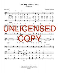 The Way of the Cross - Hymnal Style - Printable Download