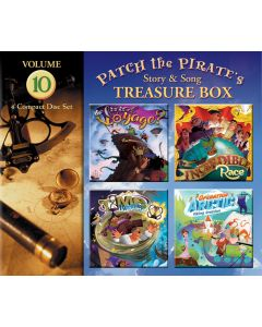 Patch the Pirate's Treasure Box - Vol. 10