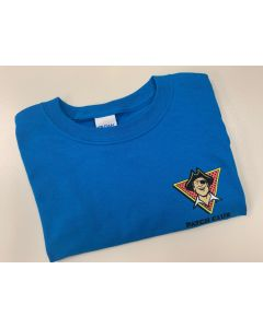 Patch the Pirate Club T-Shirt with Logo-Adult Large