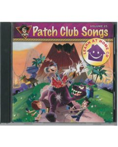 Patch Club Songs - Learn at Home CD - Vol. 25