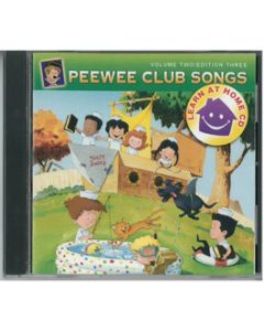 PeeWee Club Songs - Learn at Home CD - Vol. 2