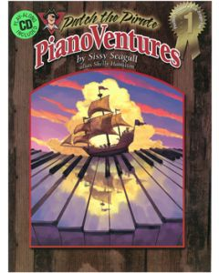 PianoVentures  Vol. 1:1 - Book/CD (Primer)