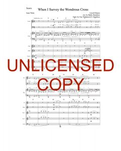 When I Survey (Simply Majesty Version) - Printable Orchestration - Printable Download