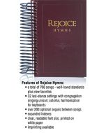 Rejoice Hymns - Director/Accompanist Spiral-edition - (Quantity orders must include church name and address.)