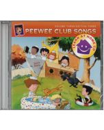 PeeWee Club Songs - Learn at Home CD - Vol. 3