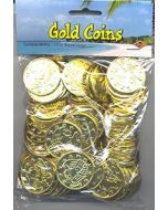 Patch the Pirate Treasure (Gold Doubloon Coin) 100 per pack - Cannot ship Media Mail.