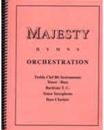 Majesty Hymns Orch: Bb - (Bass Clarinet, Baritone T.C., Tenor Sax.)
