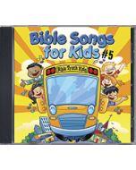 Bible Songs For Kids #5 - CD