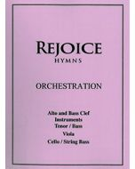 Rejoice Hymns - Orch: - Tenor (Alto Clef)/Bass Clef