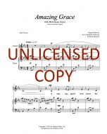 Amazing Grace (Marvelous Grace) (Children's 2-part) Printable Download
