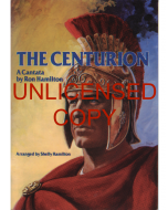 The Centurion - Choral Book (with Easter script) - Printable Download
