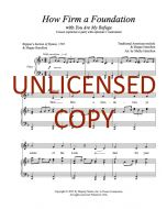 How Firm a Foundation (You Are My Refuge) - Unison (optional 2-part) Printable Download