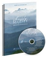 Simply Majesty - Spiral Choral Book with CD