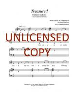 Treasured - Unison (optional harmony) Printable Download