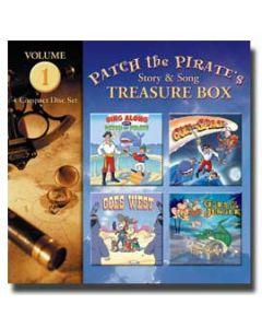 Patch the Pirate's Treasure Box - Vol. 1