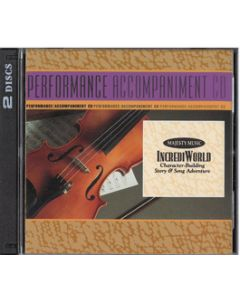 IncrediWorld - SoundTrax CD