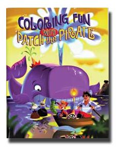 Coloring Fun with Patch the Pirate