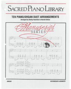 Ten Piano/Organ Duet Arrangements - Hamilton/DeCou