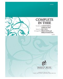 Complete In Thee - Octavo - (Quantity orders must include church name and address.)