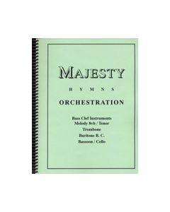Majesty Hymns Orch: C - (Trombone/Baritone B.C., Cello)
