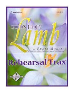 God's Holy Lamb - Rehearsal Trax CDs