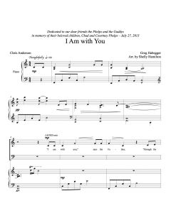 I Am with You - Choral Octavo - Printable Download