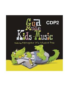 K4 - God Made Kids Music (CD #2)