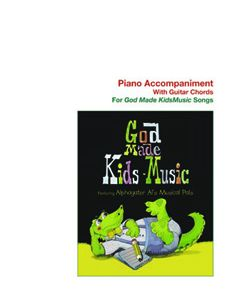 K4 - God Made Kids Music (Piano Accompaniment)