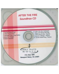 Performance Accompaniment CD After The Fire CD