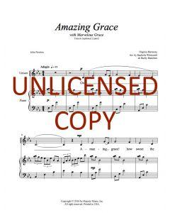 Amazing Grace (Marvelous Grace) (Children's 2-part)