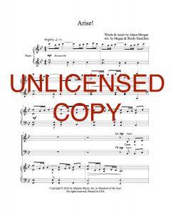 Arise! - Choral Octavo - Printable Download