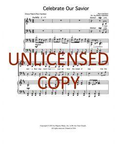 Celebrate Our Savior - Choral Octavo - Printable Download