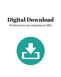 Only One - Choral Octavo Performance Accompaniment MP3 - Digital Download