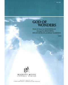GOD OF WONDERS - Choral Octavo