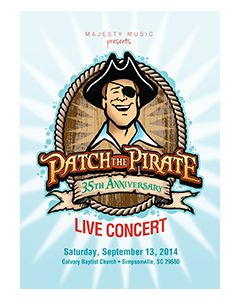 Patch the Pirate 35th Anniversary DVD