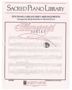 Manuscript Series: Ten Piano/Organ Duet Arrangements - Piano/Organ Sheet Music - Printable Download