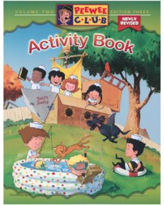 PeeWee Sailor Activity Book - Vol. 2