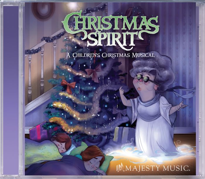 christmas spirit cd - Childrens Christmas Musicals For Church