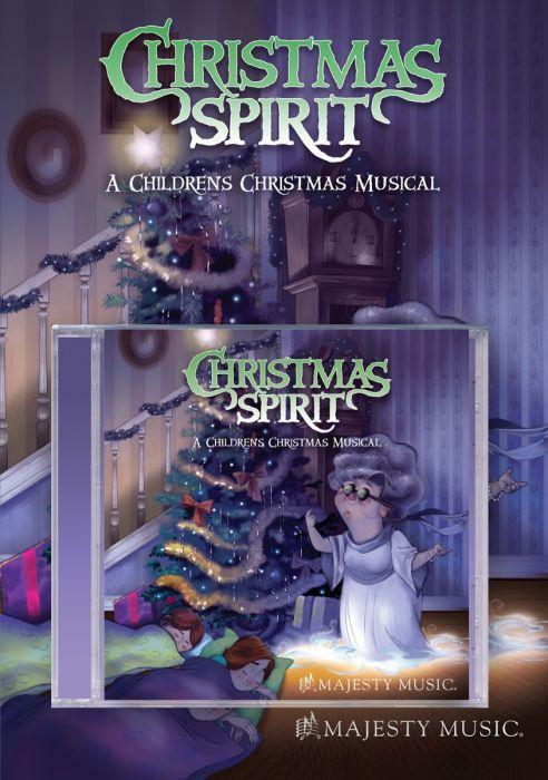 Customize Christmas Spirit - Director's Kit (Book/CD). Go back to product details
