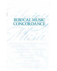 Biblical Music Concordance