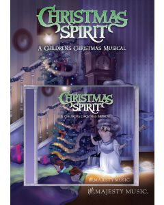 Christmas Spirit - Director's Kit (Book/CD) (Offer available to choir directors only. Limit - one per customer.)