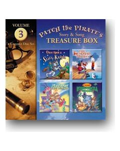 Patch the Pirate's Treasure Box - Vol. 3