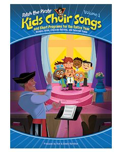 Patch Kids Choir Songs - spiral choral book
