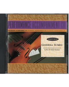 Goodwill to Men - Sound Trax/Split Trax (CD)