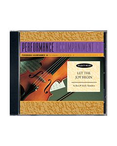 Let The Joy Begin - P/A CD (Performance Accompaniment CD)